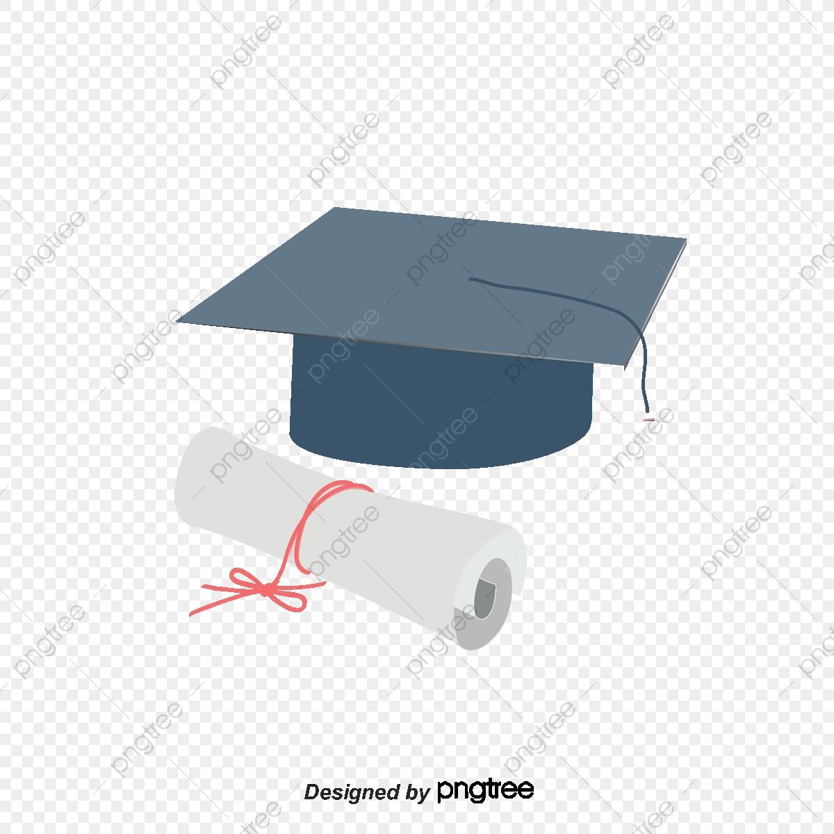 Bachelor Cap And Graduation Certificate Icon, Cap Vector, Graduation.