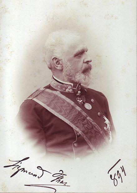Sigmund von Thun und Hohenstein.