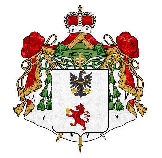 European Heraldry :: Fürstbistum Trient 1600.