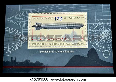 Stock Illustrations of Graf Zeppelin k15761560.