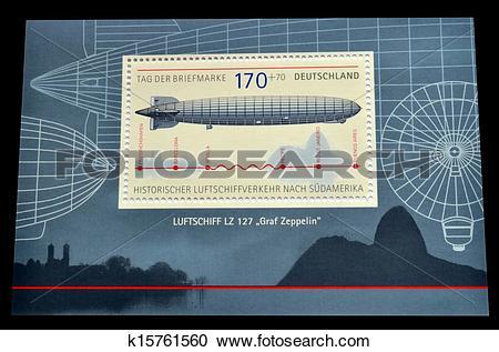 Stock Illustrations of Graf Zeppelin k15761560.