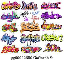 Graffiti Clip Art.