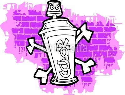 Graffiti Clipart Page 1.