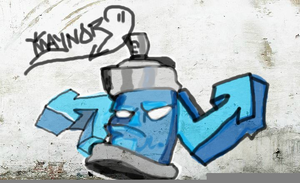 Spray Graffiti Creator.