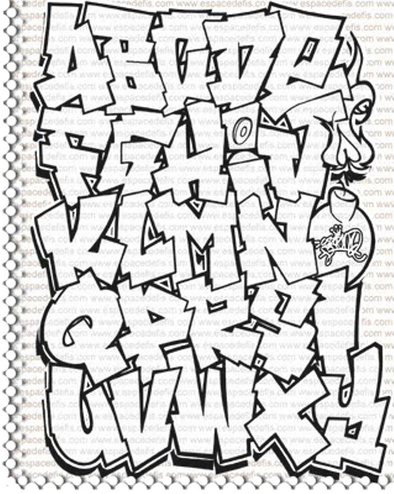 Free Graffiti Alfabet, Download Free Clip Art, Free Clip Art.