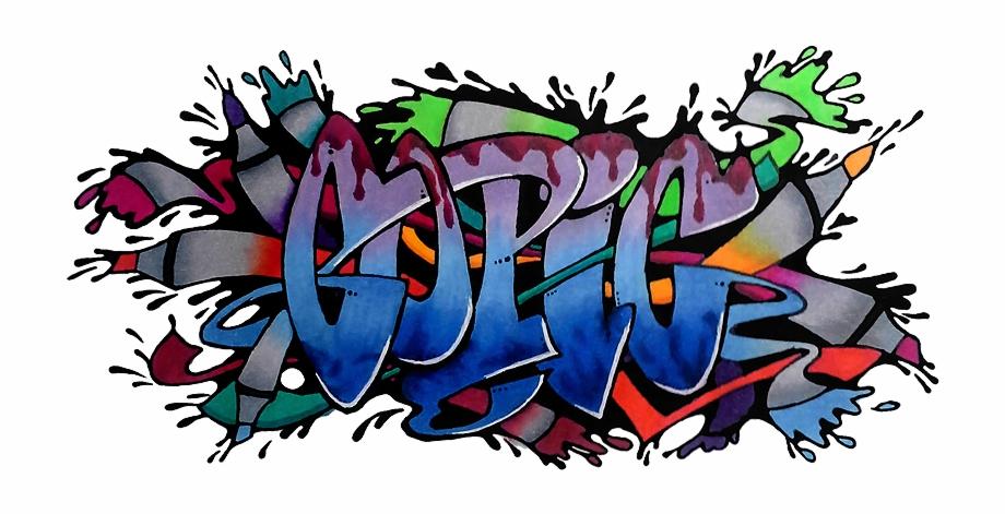 Clip Art Graffiti Backgrounds Transparent Background.