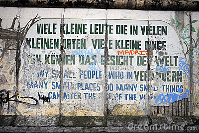 Graffiti In Berlin Editorial Photo.
