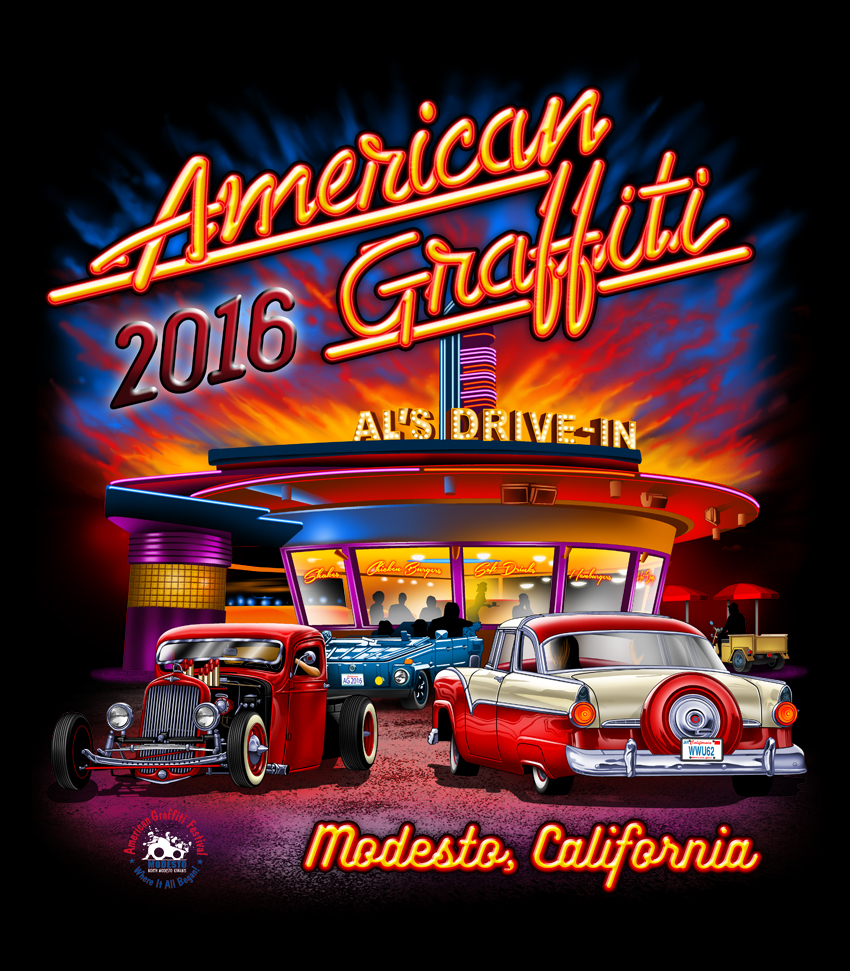 American Graffiti Festival by the North Modesto Kiwanis Club.