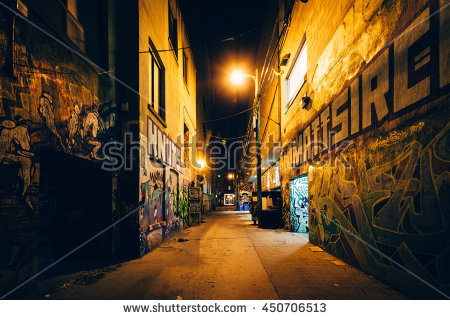 Alley Stock Photos, Royalty.