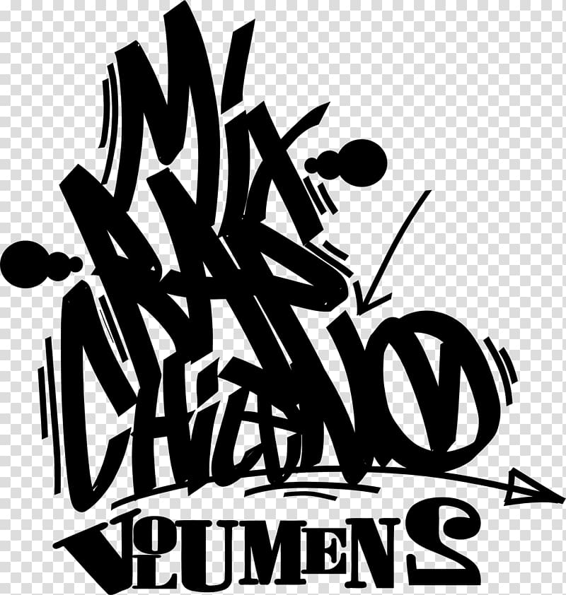 Rapper Logo Graffiti Hip hop chileno, hip.