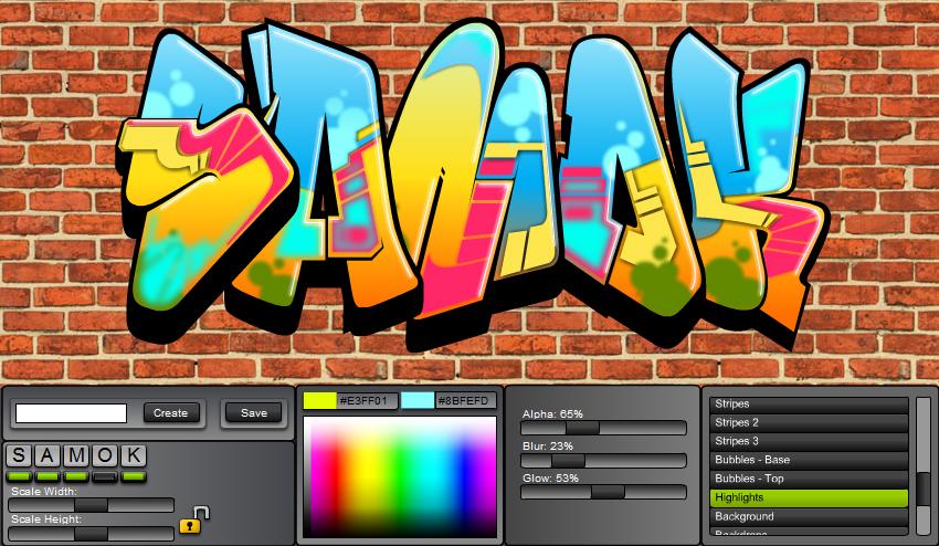 17 Free Graffiti Fonts Creator Images.