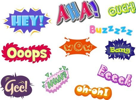 Text Vector Variety Of Graffiti Clipart Picture.