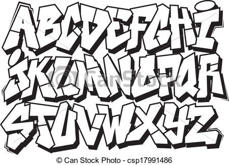 Graffiti font Vector Clipart Illustrations. 3,963 Graffiti.