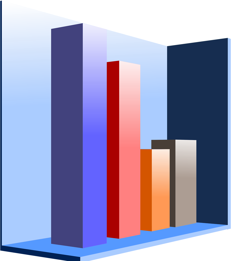 Download Graficas De Barras 3d Png Clipart Bar Chart.