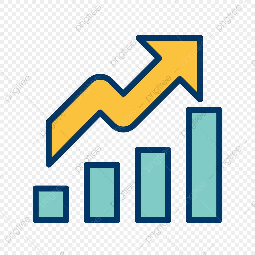 Growth Icon, Growth, Icon, Chart PNG and Vector with Transparent.