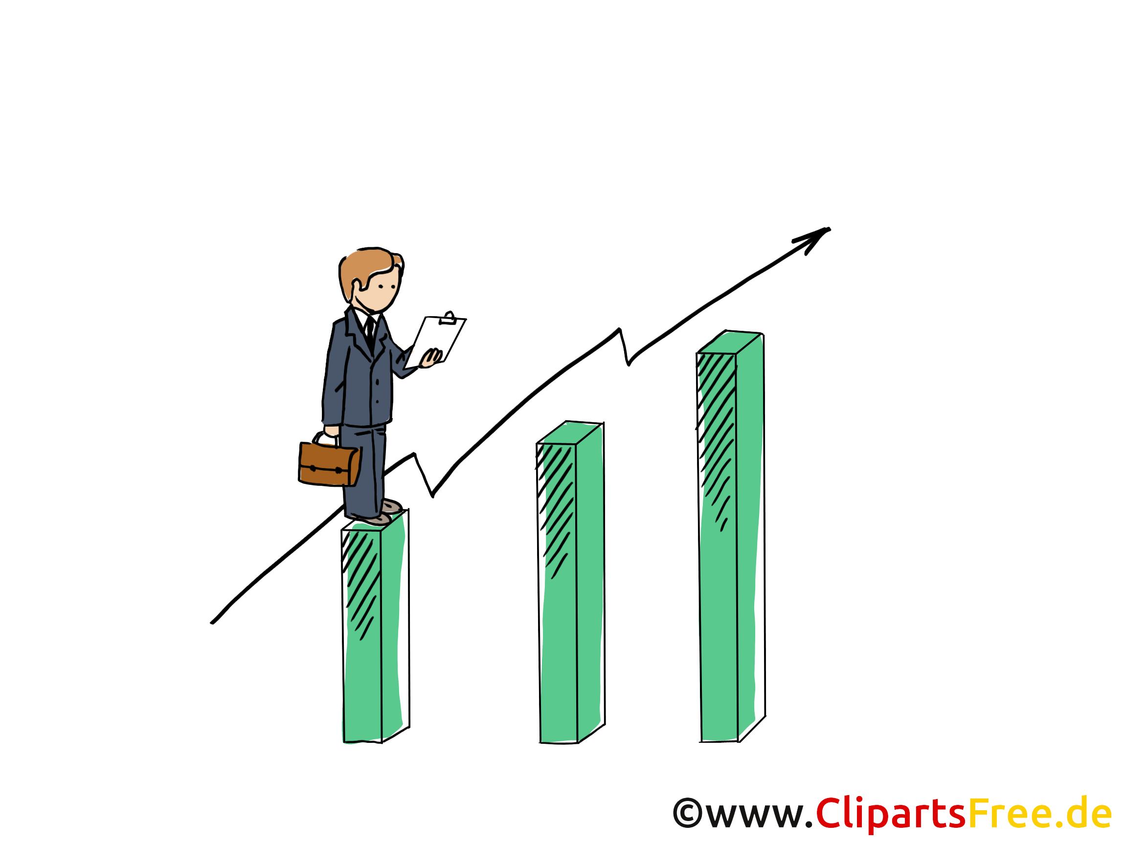 Umsatz Clipart, Grafik, Bild, Cartoon.