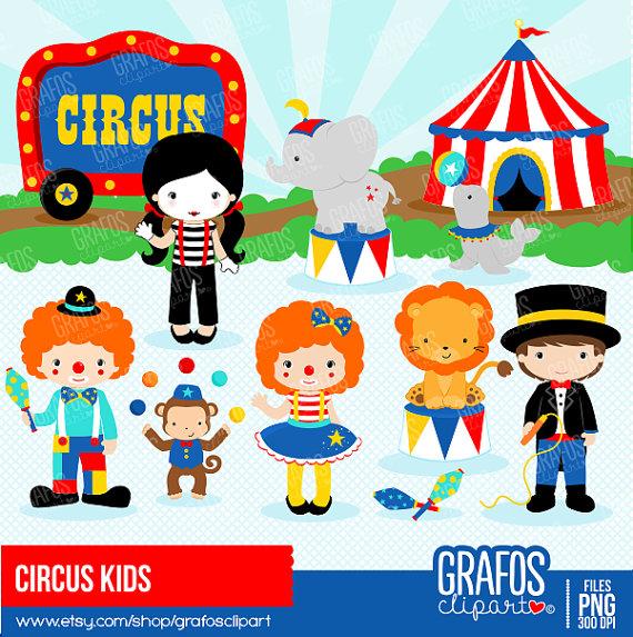 CIRCUS KIDS.