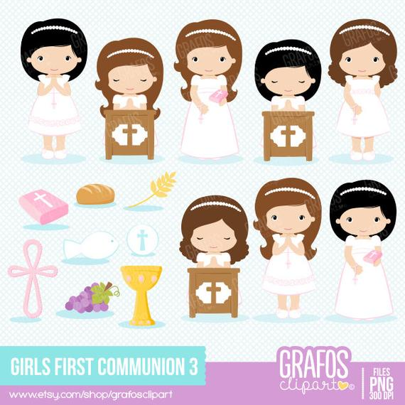 GIRLS FIRST COMMUNION 4.