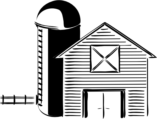 Silo Farming Grain Storage Tank Clip Art at Clker.com.
