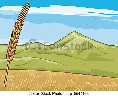 Grain field Clipart and Stock Illustrations. 4,580 Grain field.