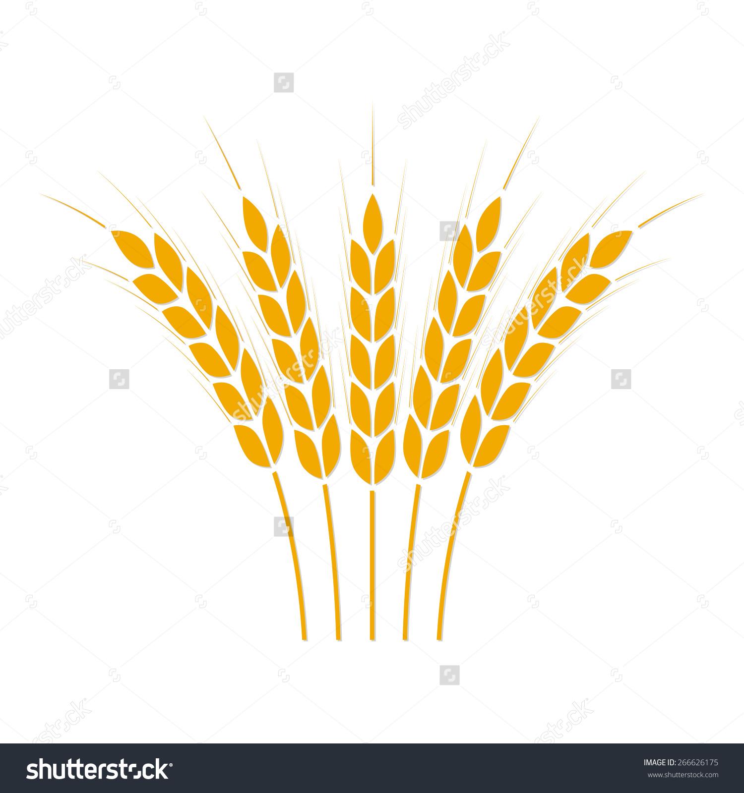 Clip art of crops.