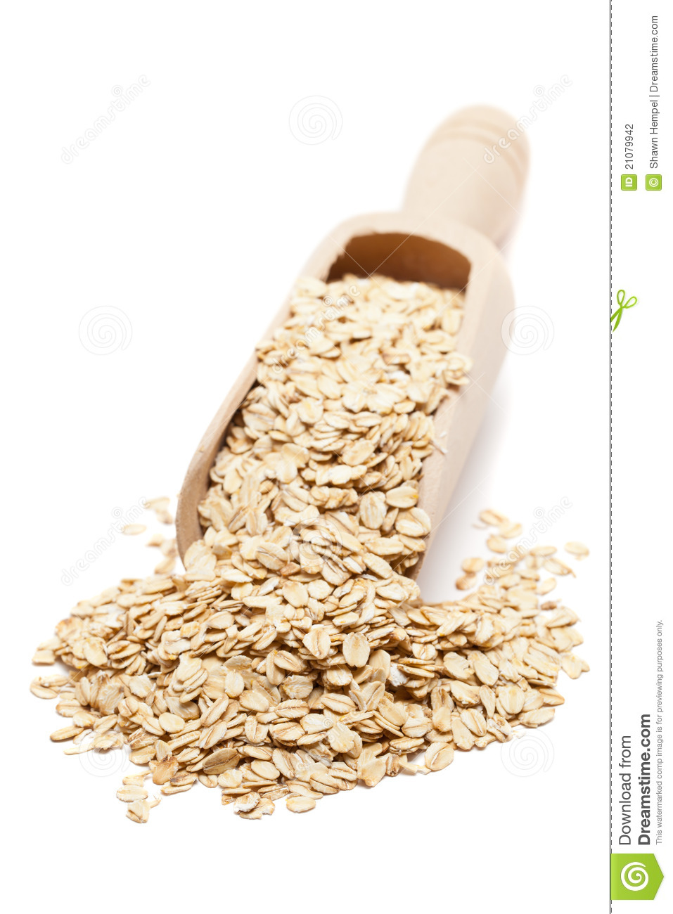 Oat Flakes Stock Photography.