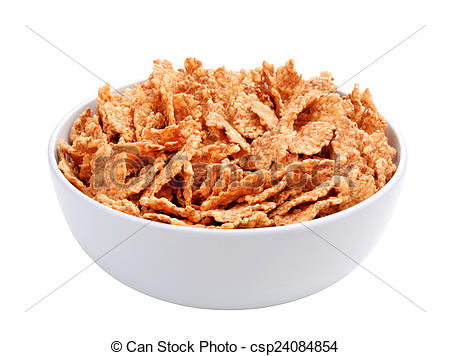 Stock Images of Whole grain breakfast cereal.