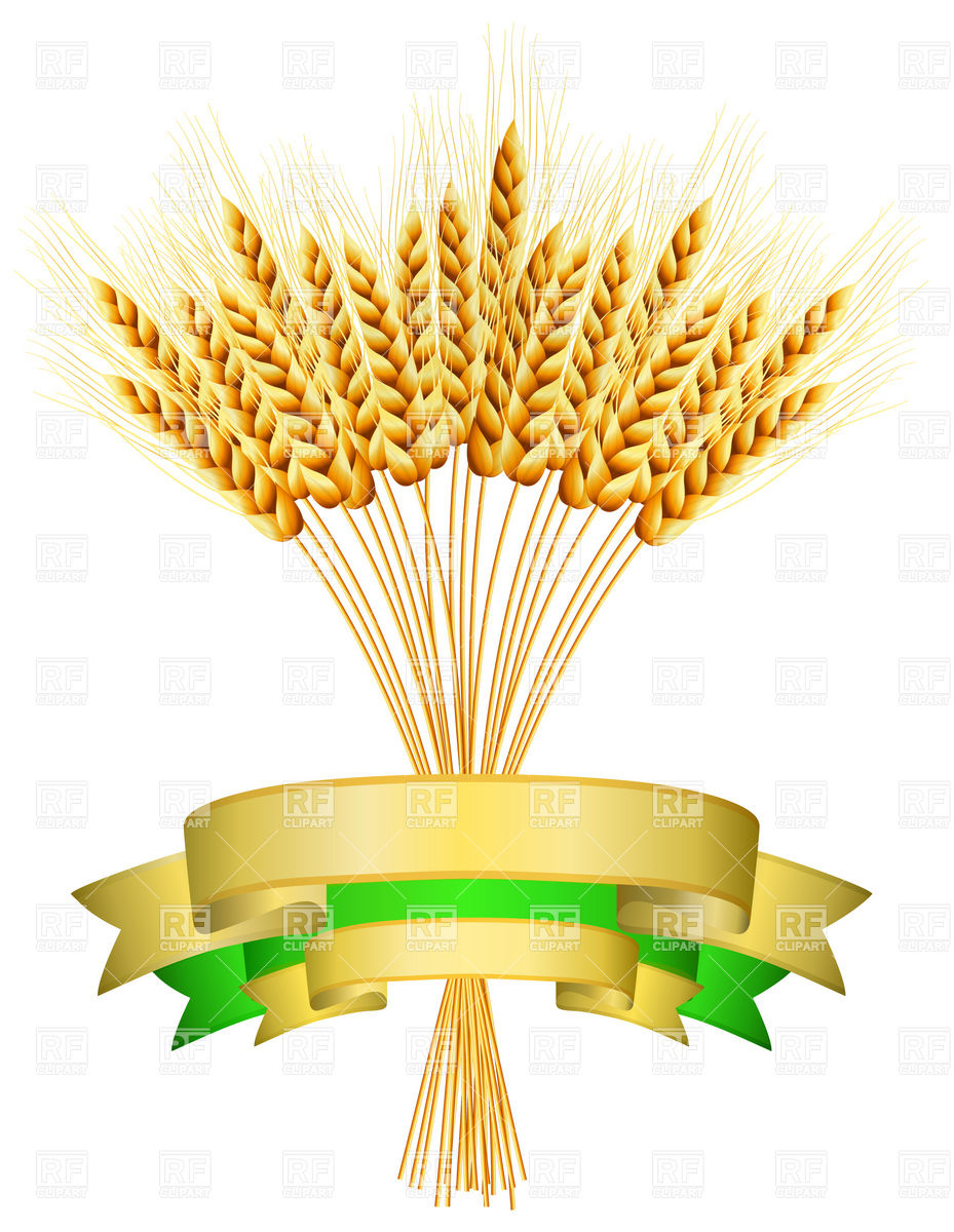 Wheat Harvest Clipart.