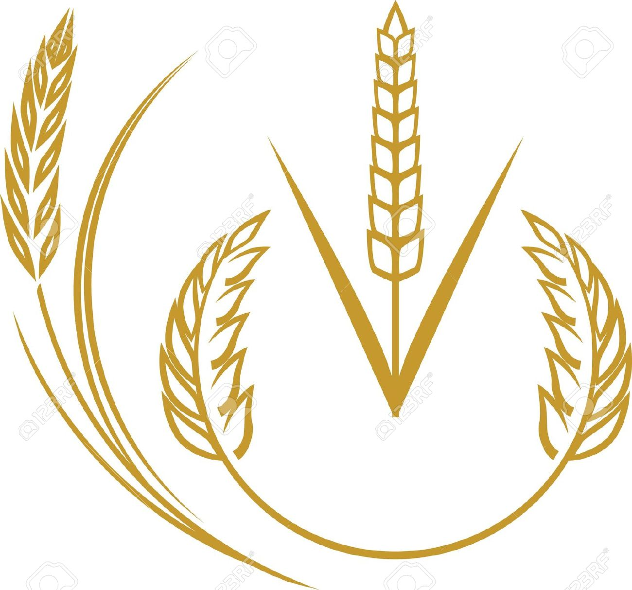 Wheat Icons Royalty Free Cliparts, Vectors, And Stock Illustration.