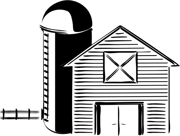 Silo Farming Grain Storage Tank clip art Free vector in Open.