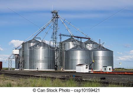 Grain storage clipart #15