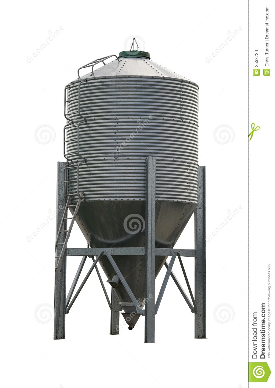 Grain Silo Stock Images.