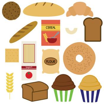 Bread and grains Clip art (Food).