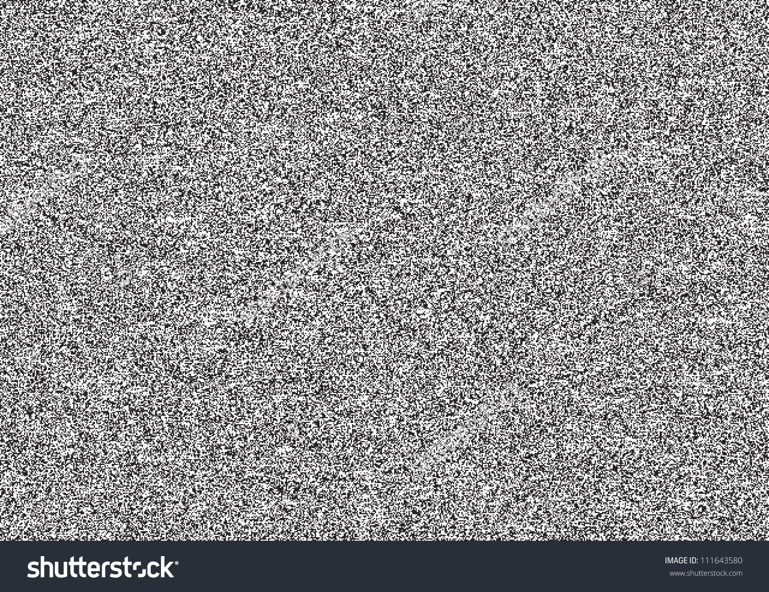 Seamless Texture Television Grainy Noise Effect Stock Vector.