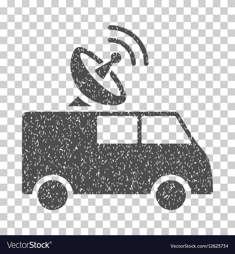 Radio Control Car Grainy Texture Icon.
