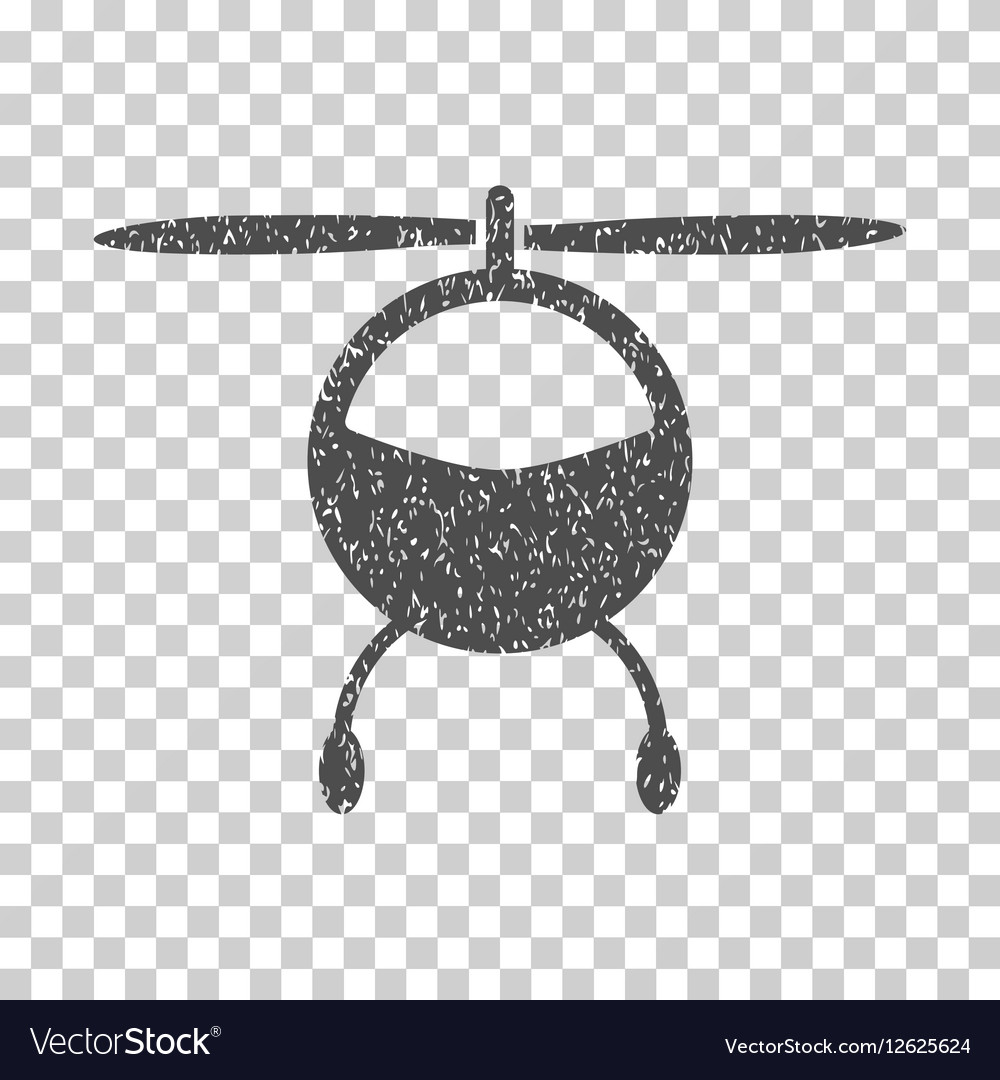 Helicopter Grainy Texture Icon.