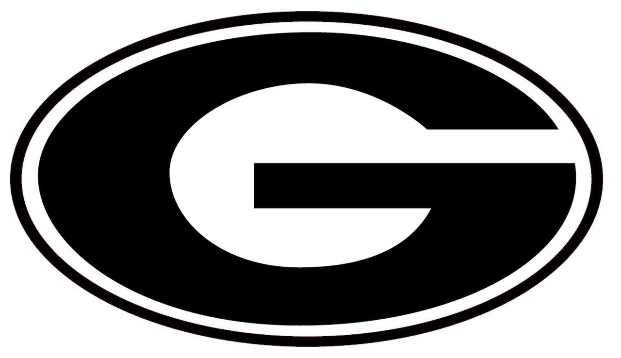 ncaa0737 Grambling Tigers G logo Die Cut Vinyl Graphic Decal Sticker NCAA.
