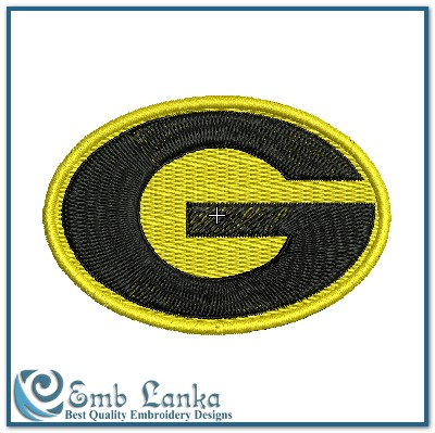 Grambling State Tigers Logo Embroidery Design.
