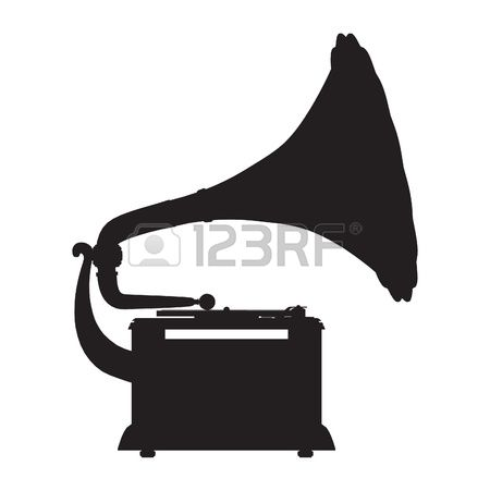 6,499 Gramophone Stock Vector Illustration And Royalty Free.