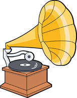 Gramophone Clipart.