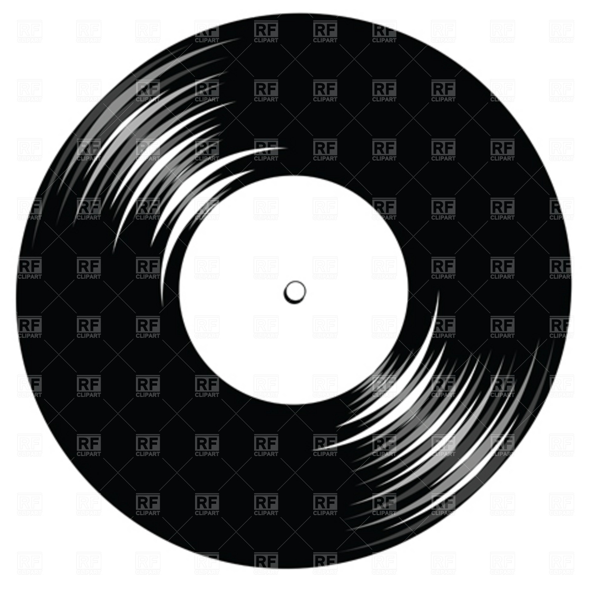Lp Record Clipart.
