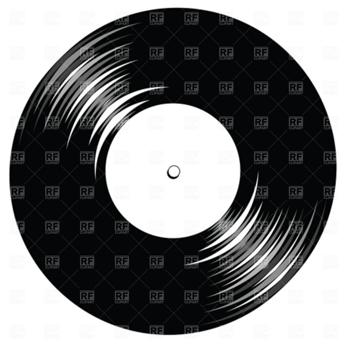 Lp Record Clipart.