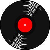 Gramophone Record Clip Art.