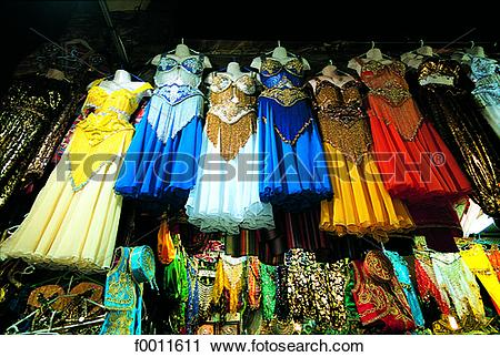 Stock Photography of Turkey, Istanbul, Grand Bazaar, belly dance.