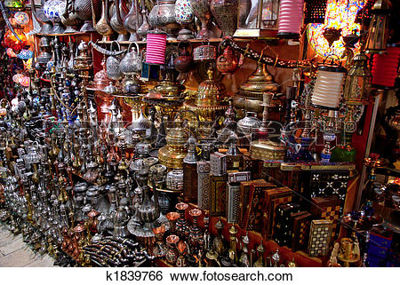 Stock Images of Grand Bazaar showcase k1839766.