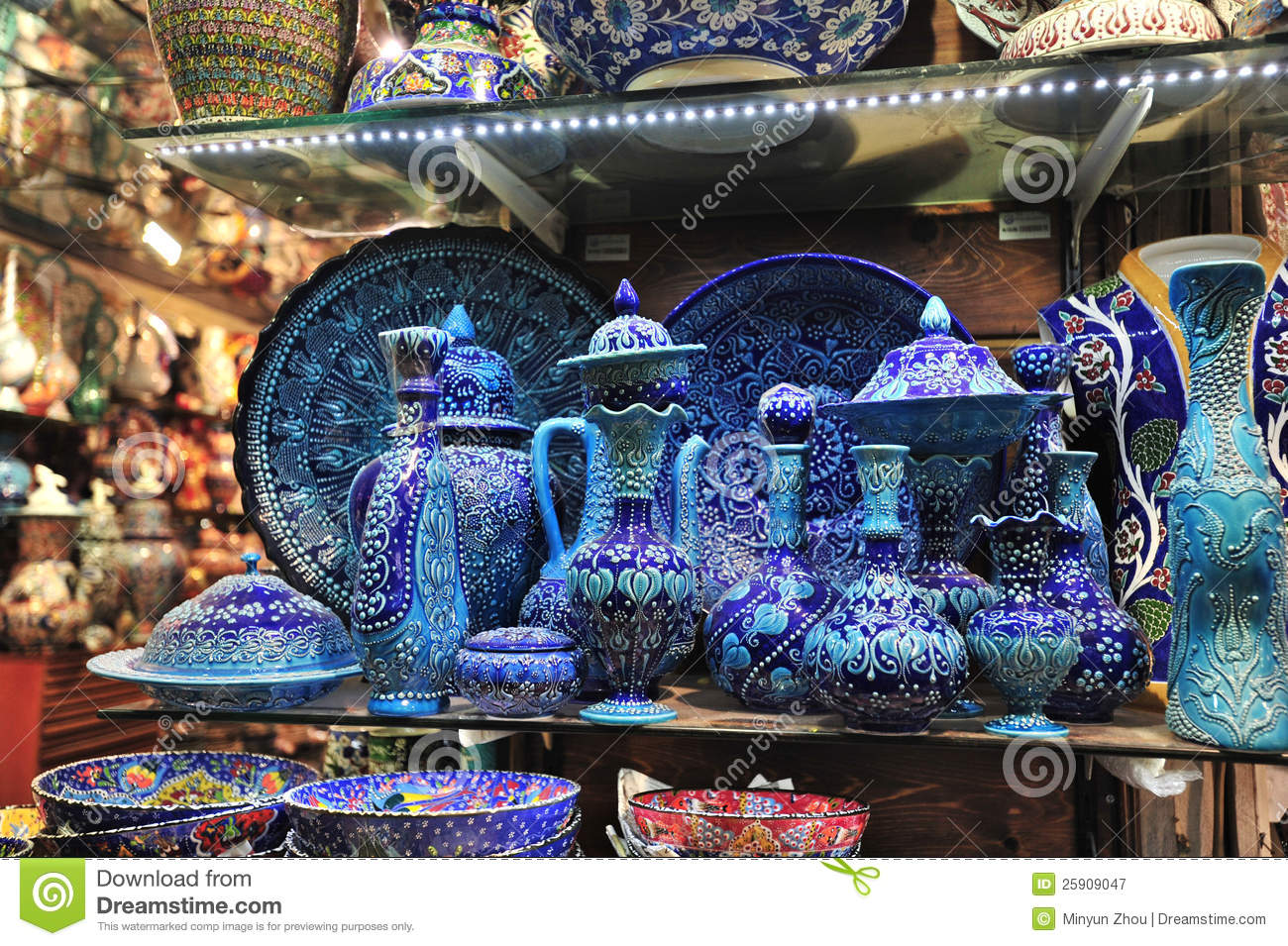 Grand Bazaar Istanbul Royalty Free Stock Photography.