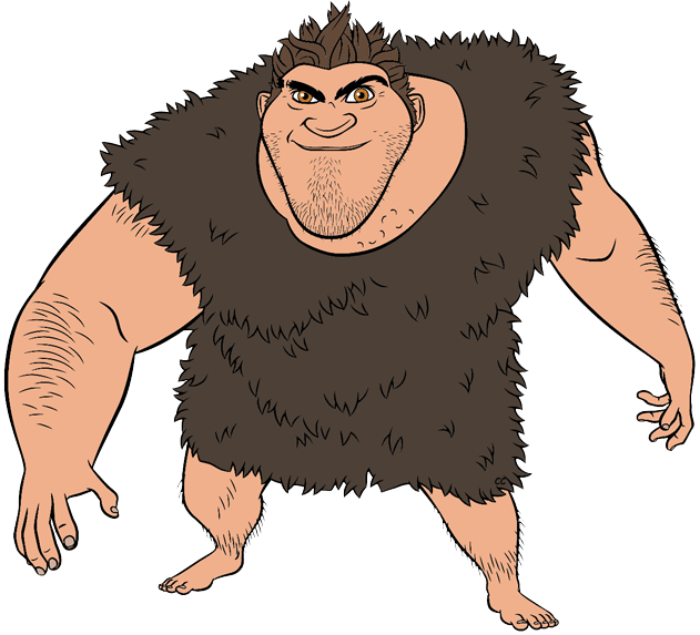 The Croods Clip Art Images.