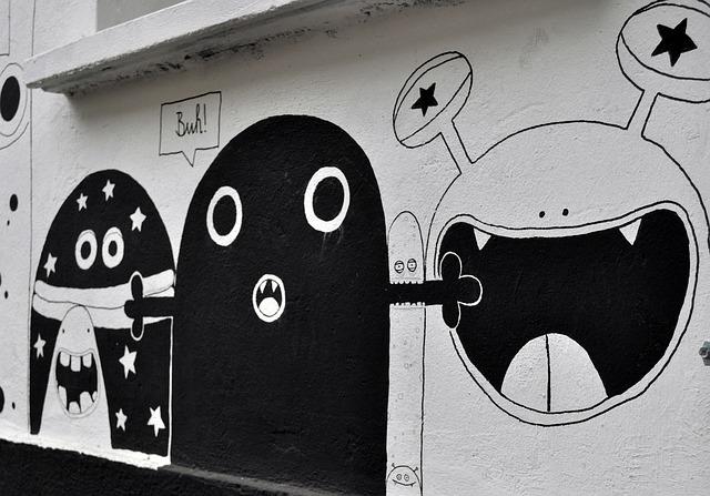 Free photo Wall Art New York Spray Street Art Graffiti.
