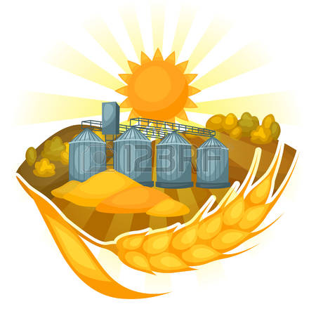 Illustration Granary Stock Vector Illustration And Royalty Free.