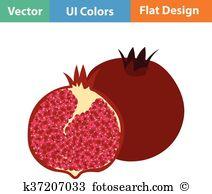 Punica granatum Clip Art and Illustration. 14 punica granatum.